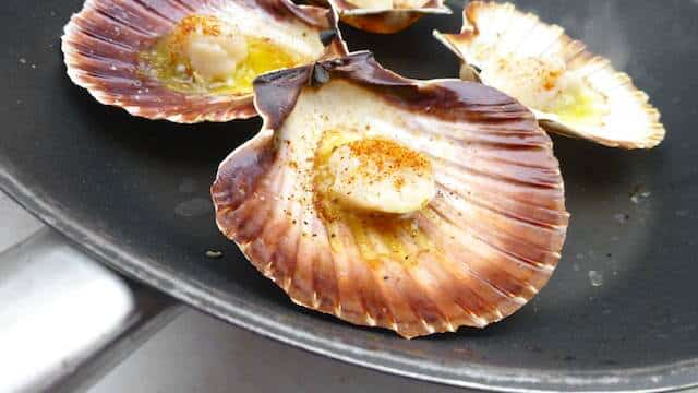 Time for a scallops recipe! I've always thought of sea scallops as being quite expensive. But here's why you should go for seasonal products!