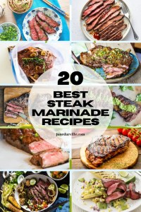 Are you looking for steak marinade recipes? Then you should take a look at these 20 fabulous steak marinade recipes roundup!