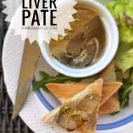 Chicken Liver Pate: homemade!
