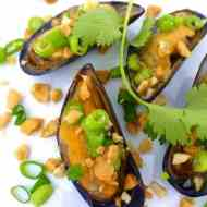 Grilled Mussels Vietnamese Style