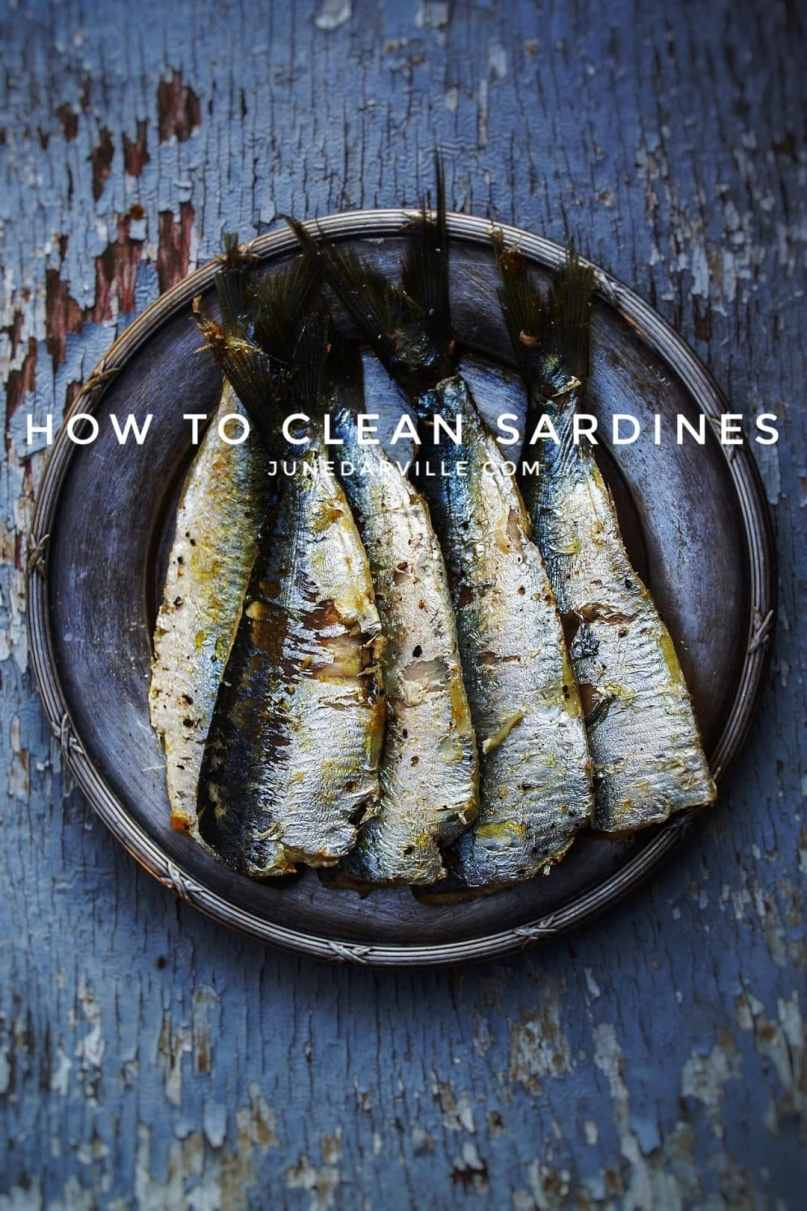 Here's a step-by-step picture guide to show you how to clean fish like fresh sardines! Once you've cleaned the first one you'll see how easy it goes...