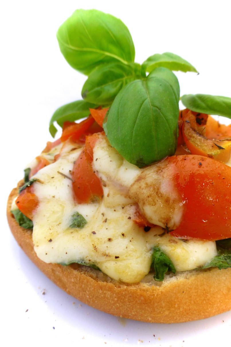 Mozzarella cheese and tomatoes in my fridge: lookslike we're havinga caprese sandwich for lunch! This classic Italian combo is such a great treat.