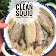 How To Clean Squid: Easy Step By Step