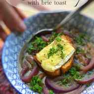 Best Red Onion Soup Recipe with Brie