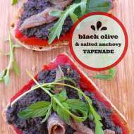 Black Olive Tapenade with Salted Anchovy