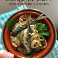 Easy Sarde in Saor: Sardines from Venice