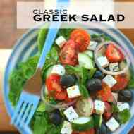 Easy Greek Salad Recipe (Horiatiki)