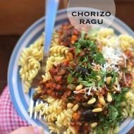 Best Chorizo Ragu (Smoky Pasta Sauce)