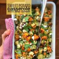 Best Sweet Potato Casserole with Feta Cheese
