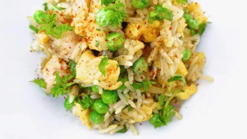 Easy Eggs & Bacon Fried Rice Recipe