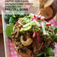 Easy Pulled Pork Pretzel Buns Recipe