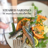Easy Steamed Sardines Recipe with Oranges