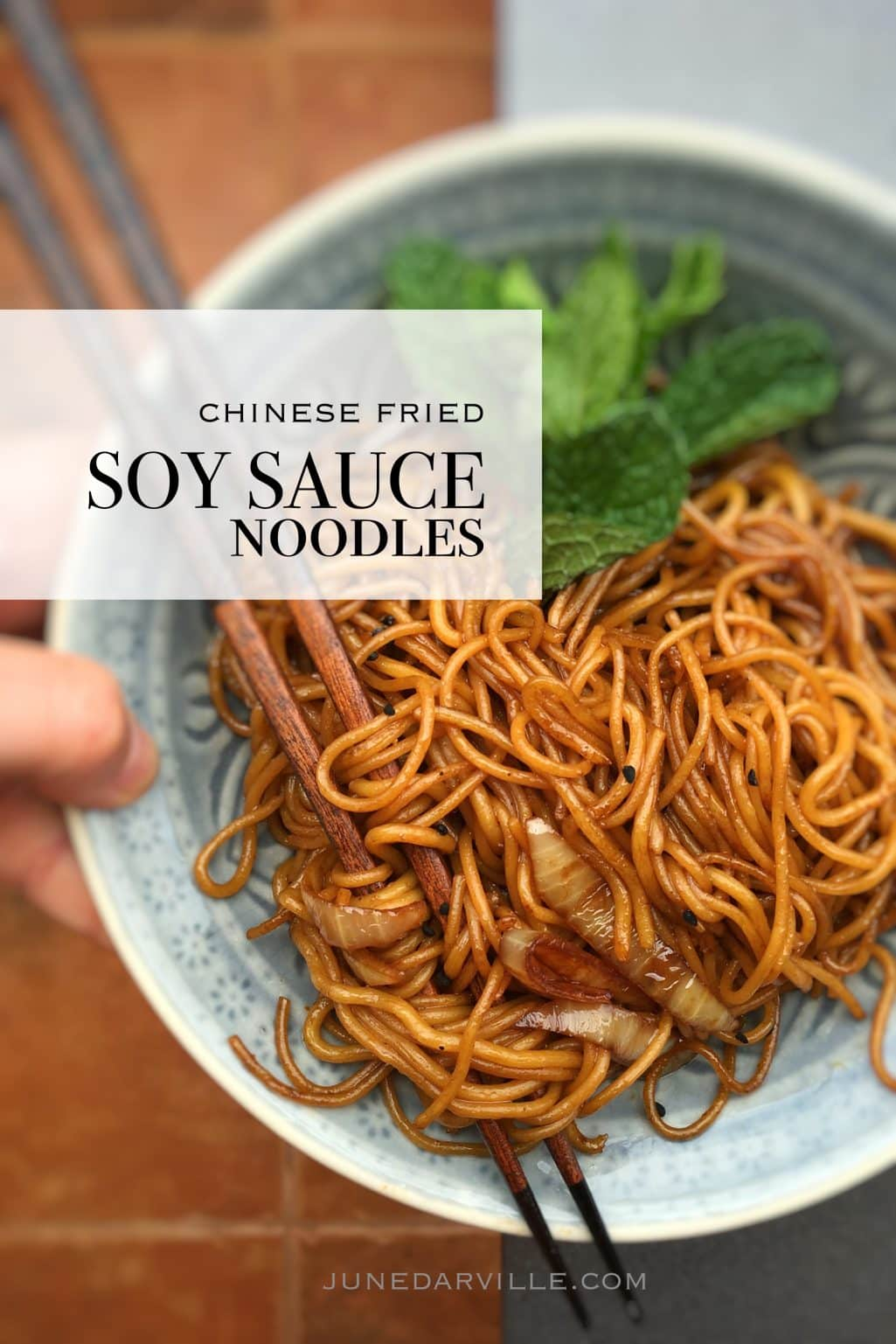 Soy Sauce Noodles Chinese Noodle Stir Fry Simple
