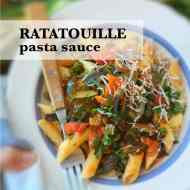 Ratatouille Pasta Sauce Recipe