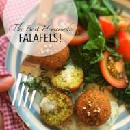 Best Homemade Falafel Recipe Ever