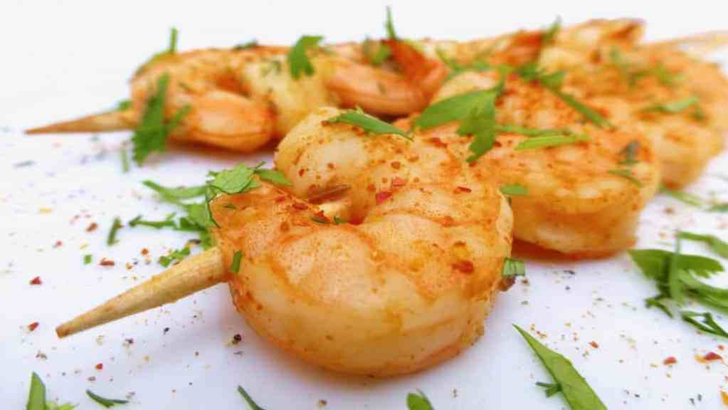 Learn how to make fresh chimichurri from scratch in this easy chimichurri shrimp recipe... My favorite Cinco de Mayo recipe!