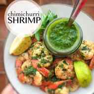 Easy Chimichurri Shrimp Recipe