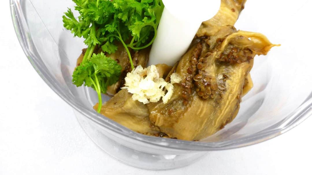 Baba Ganoush Recipe Roasted Eggplant Dip Simple Tasty