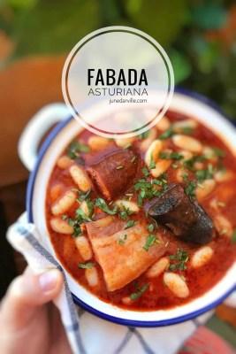 Fabada Asturiana Bean Stew Recipe