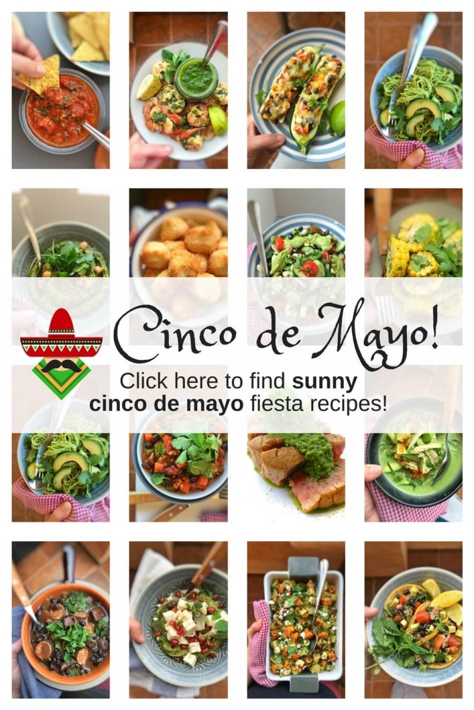 My Cinco de Mayo recipes! All about Mexican food, recipe and popular dishes and what Cinco de Mayo is all about. Happy Fiesta!