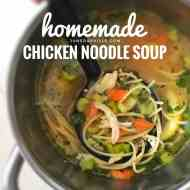 Easy Chicken Noodle Soup from Scratch