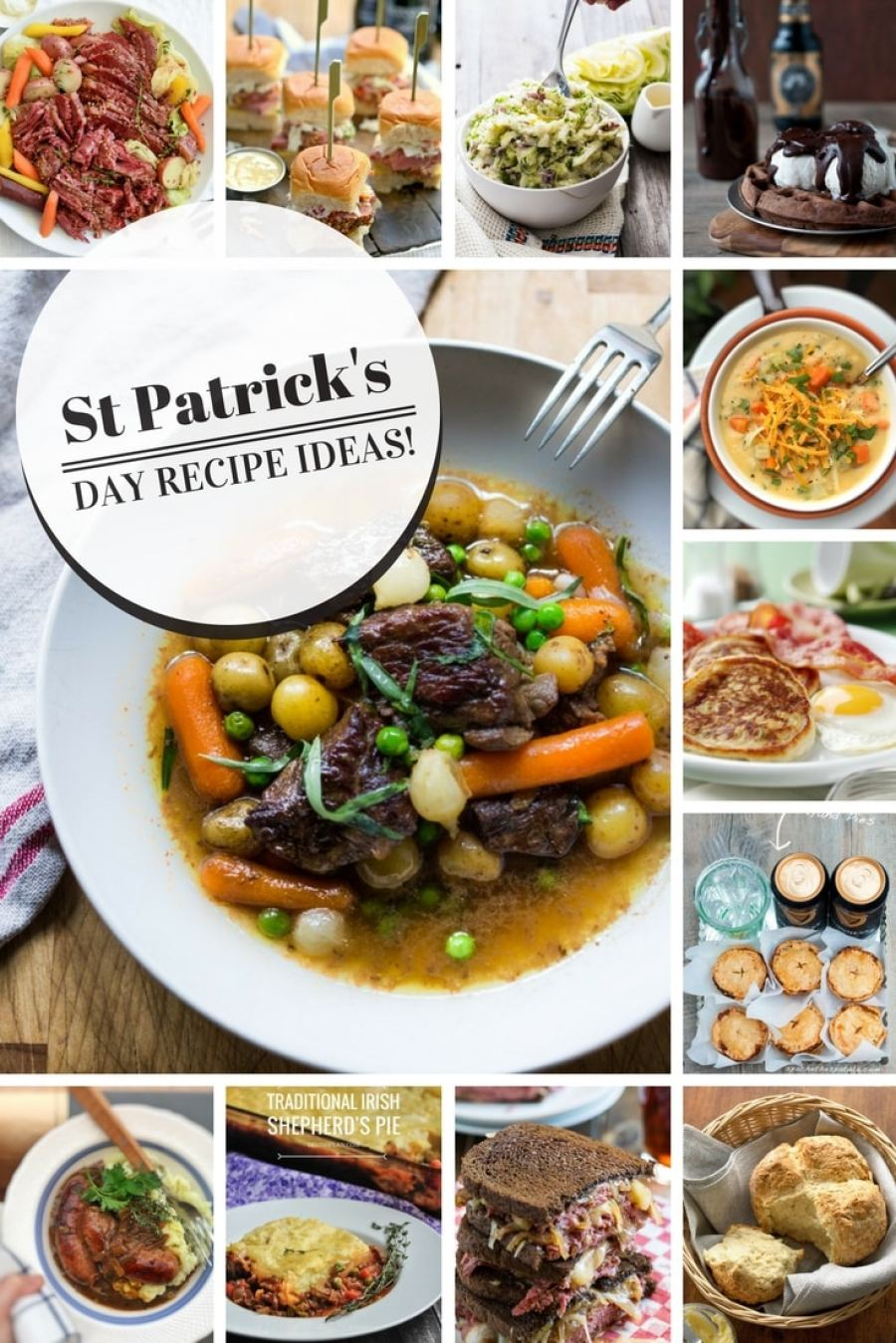 March 17, here we are again! Hunting for St Patrick's Day recipes and other delicious ideas as always. I truly hope that I can be of some help to you this year!