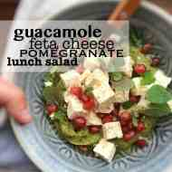 Easy Avocado Feta Lunch Salad Recipe