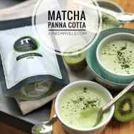 Easy Matcha Green Tea Panna Cotta