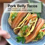 Easy Beer & Pork Belly Tacos Recipe