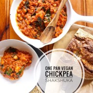 Easy One Pan Vegan Chickpea Shakshuka