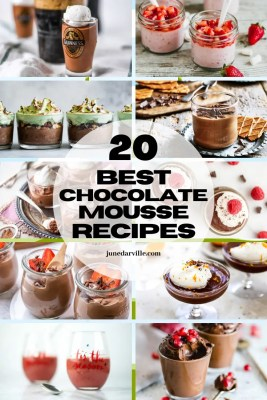 20 Delicious Chocolate Mousse Recipes