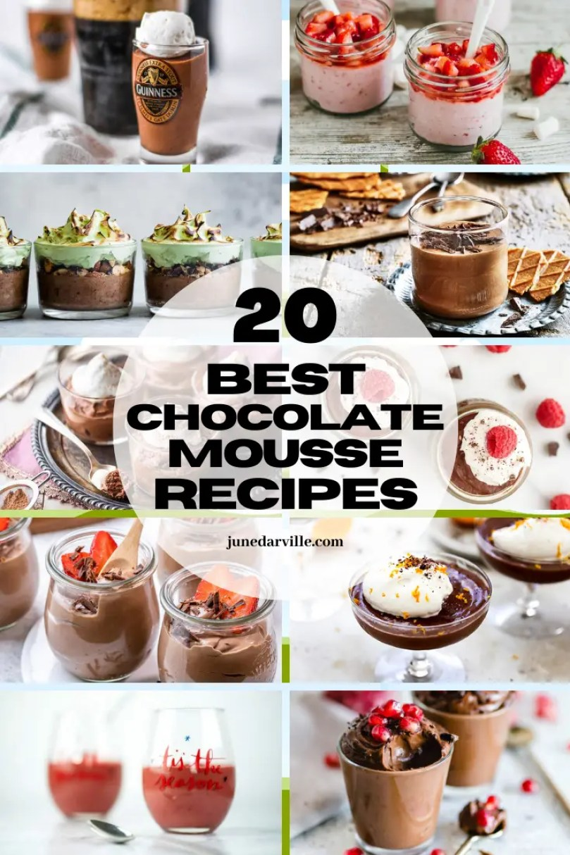 Are you a chocolate mousse fan? Then you have to check out these deliciously creative chocolate mousse recipes from fellow food bloggers!