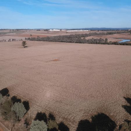 Site of the new Bomen Solar Farm