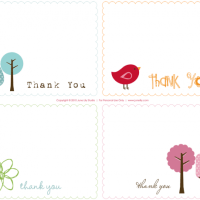 Thank You notes - a quick round up