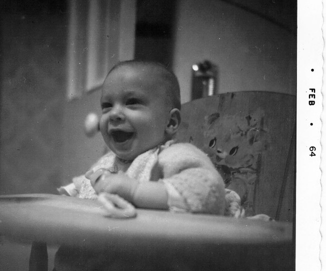 1964-Mike-in-highchair