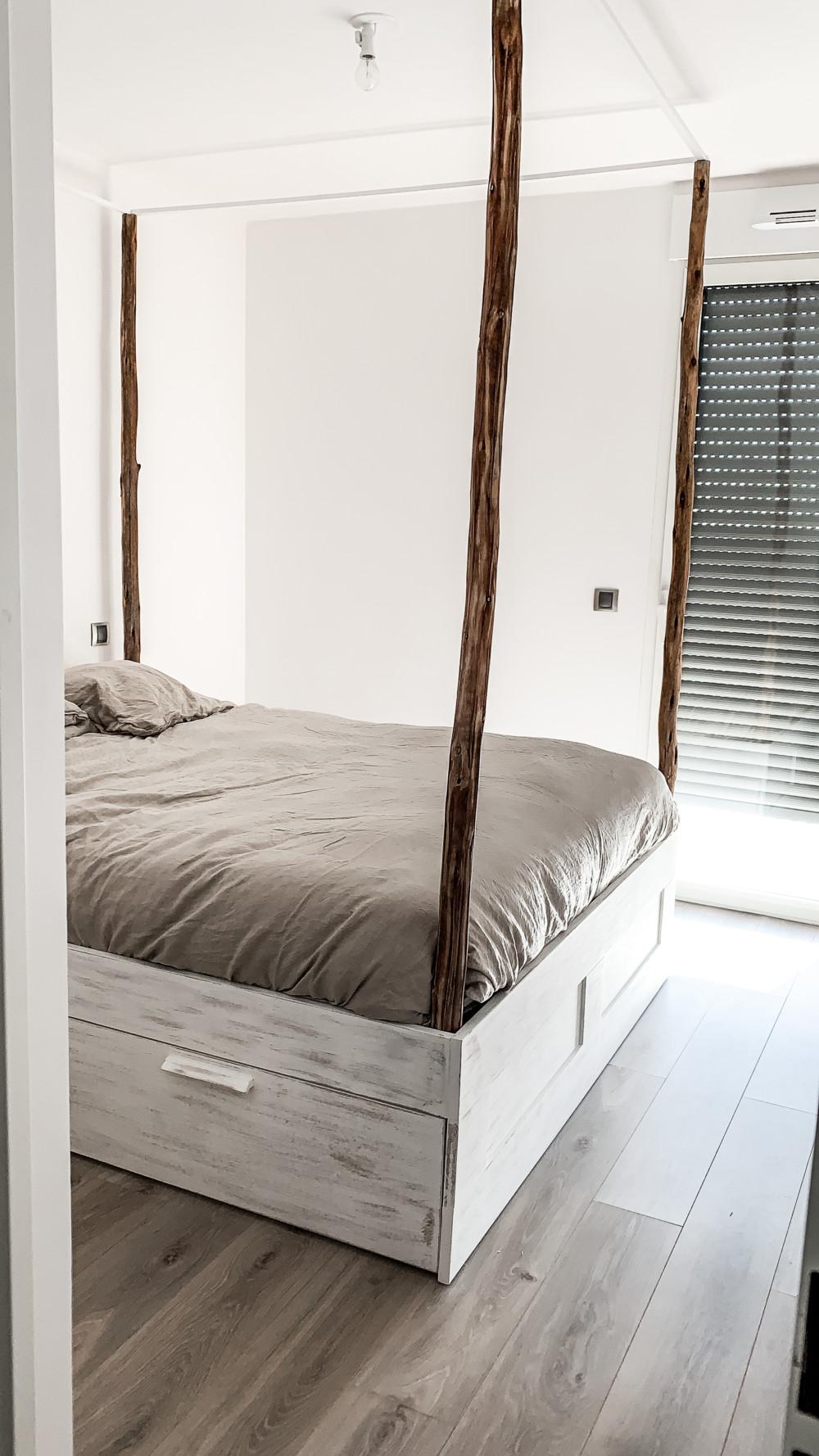 relooker un lit ikea pour moins de 100