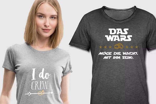 Junggesellenabschied Ideen Aktivitten Shirts Spiele