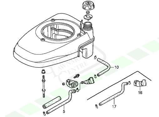 Honda Izy Petrol Pipe / Fuel Pipe Kit (GCV135 GCV160
