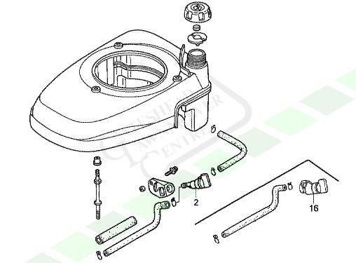 Honda Izy Petrol Tap Fuel Tap (GCV135 GCV160 GCV190