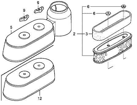 Honda GXV160 Service Kit (New Engine Style)