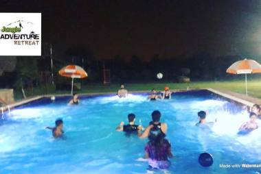 evening pool party in gurgaon