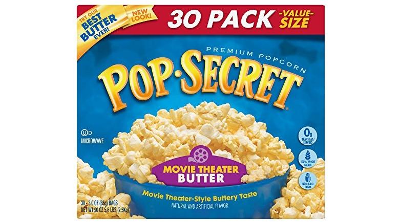 expired pop secret popcorn movie