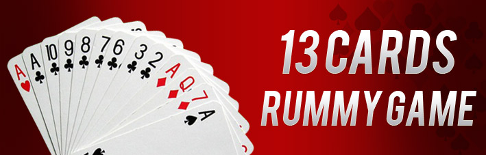 13 Cards Rummy Game