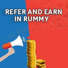 Refer your cirlce of rummy friends and win