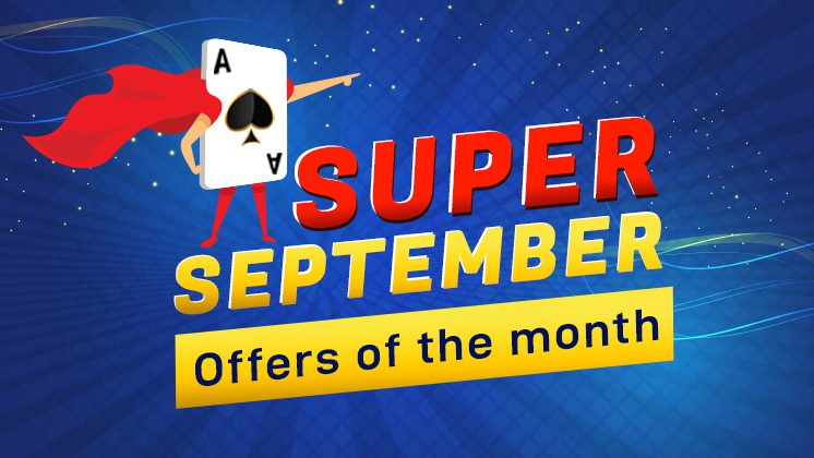 September Rummy promotion