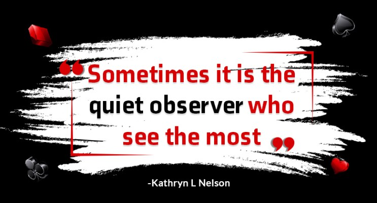 observation quote