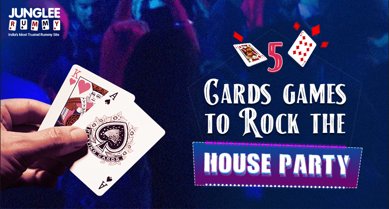 5 Card Games to Rock Your House Party
