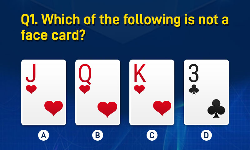 Which of the following is not a face card?