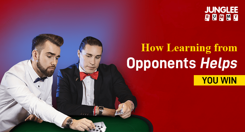 Learn rummy from opponents