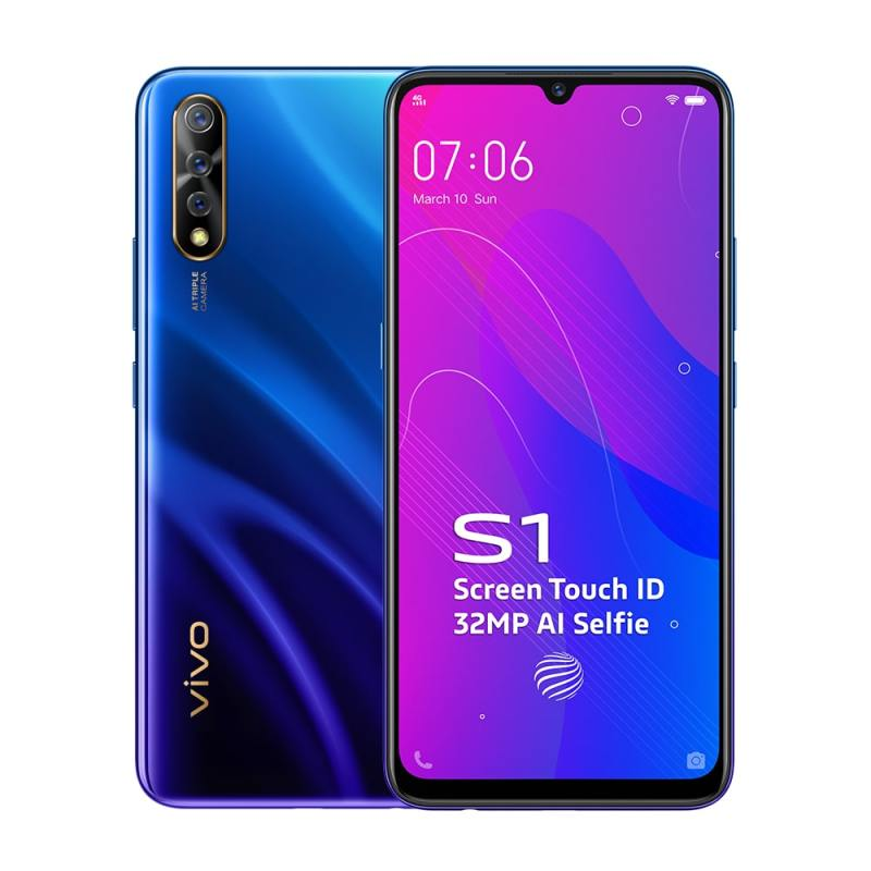 Vivo S1 with Helio P65 SoC launched